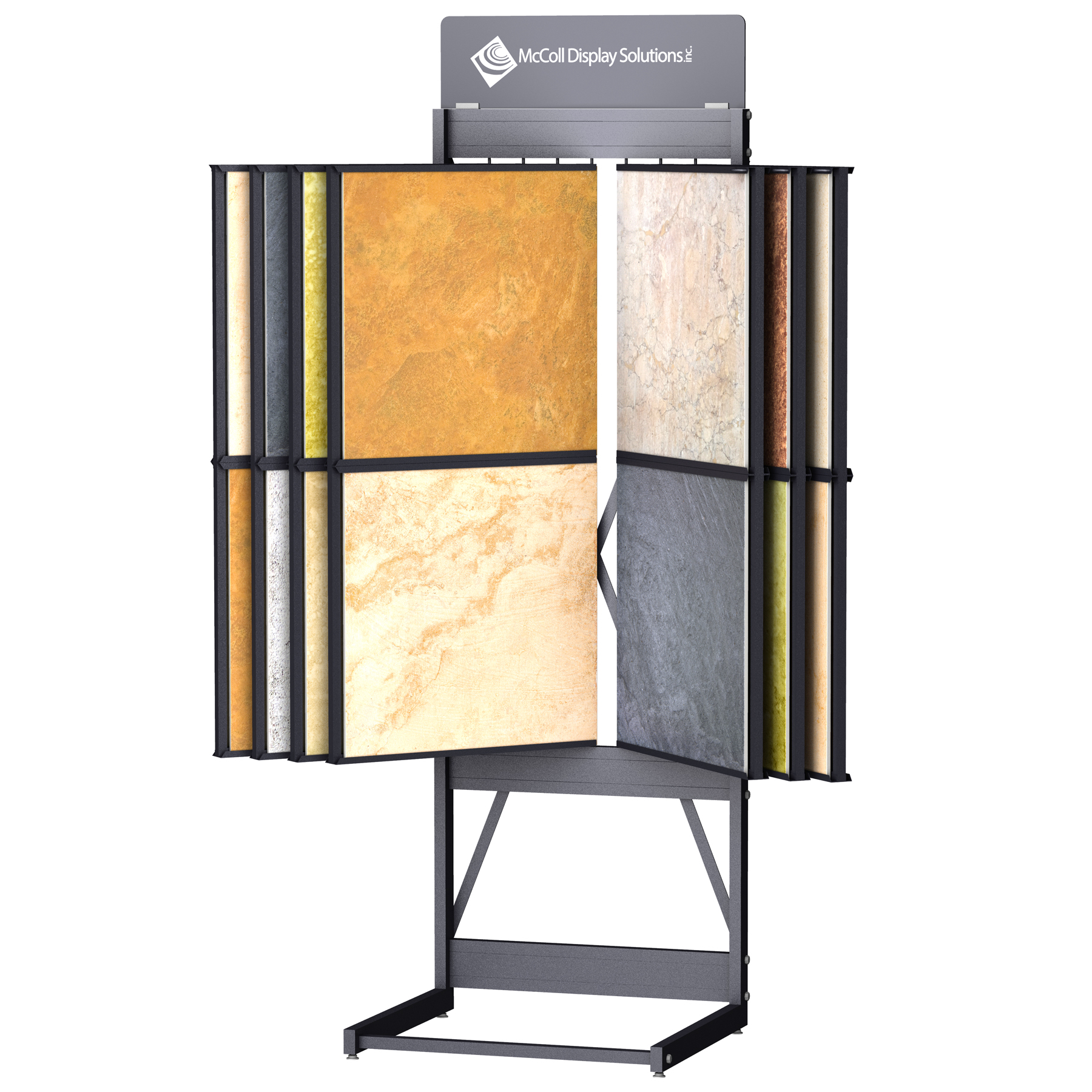 CD246 Wing Rack Tower Stand Channel System for Tile Stone Marble Quartz Granite