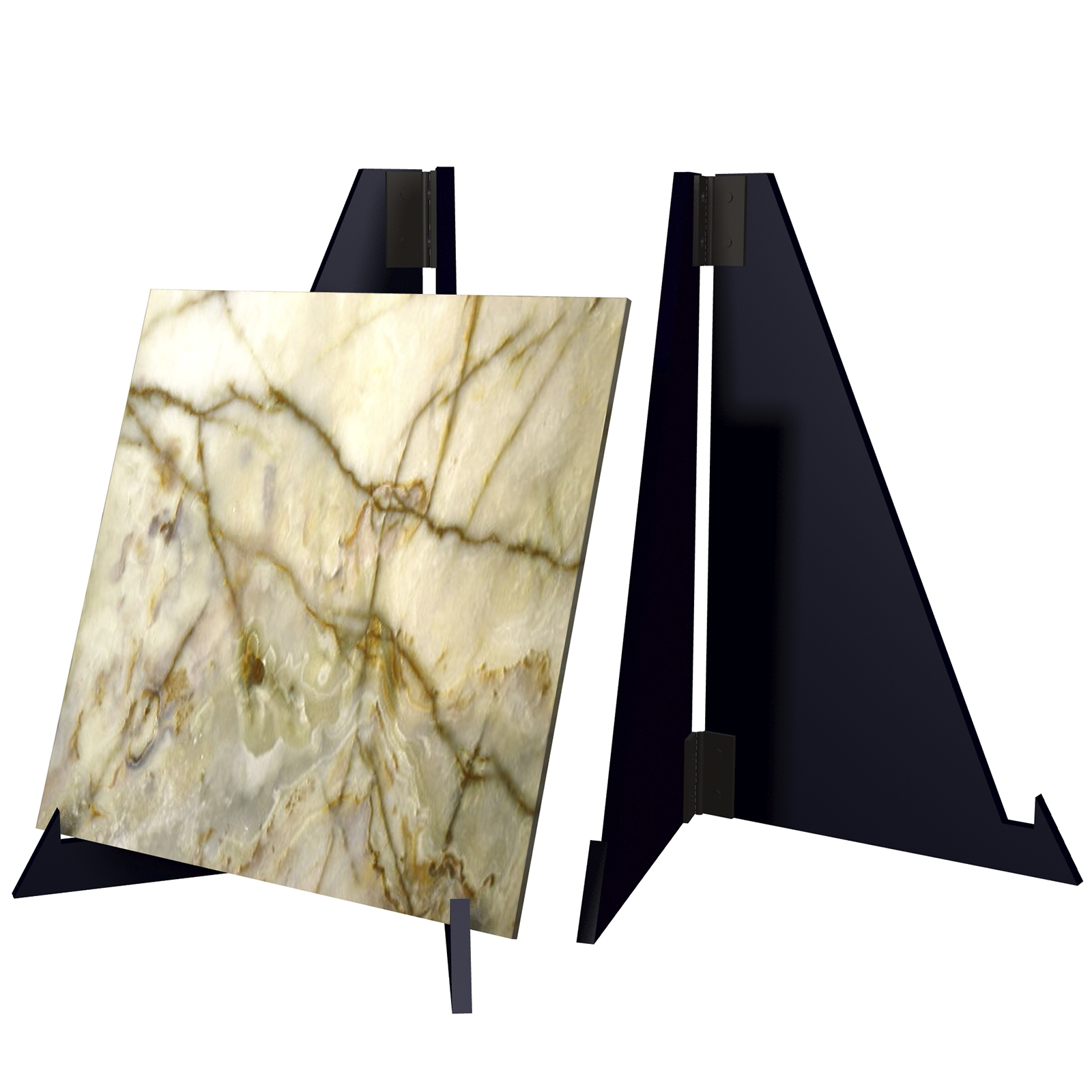 CD83 Countertop Table Pallet Top Easel Stand for Ceramic Tile Granite Stone Marble Quartz Sample Boards Showroom Display