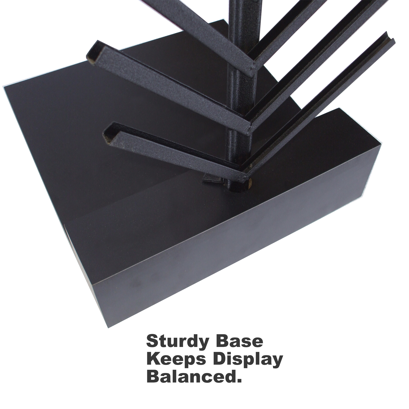 McReady Sample Channel System Sturdy Base Keeps Display Balanced