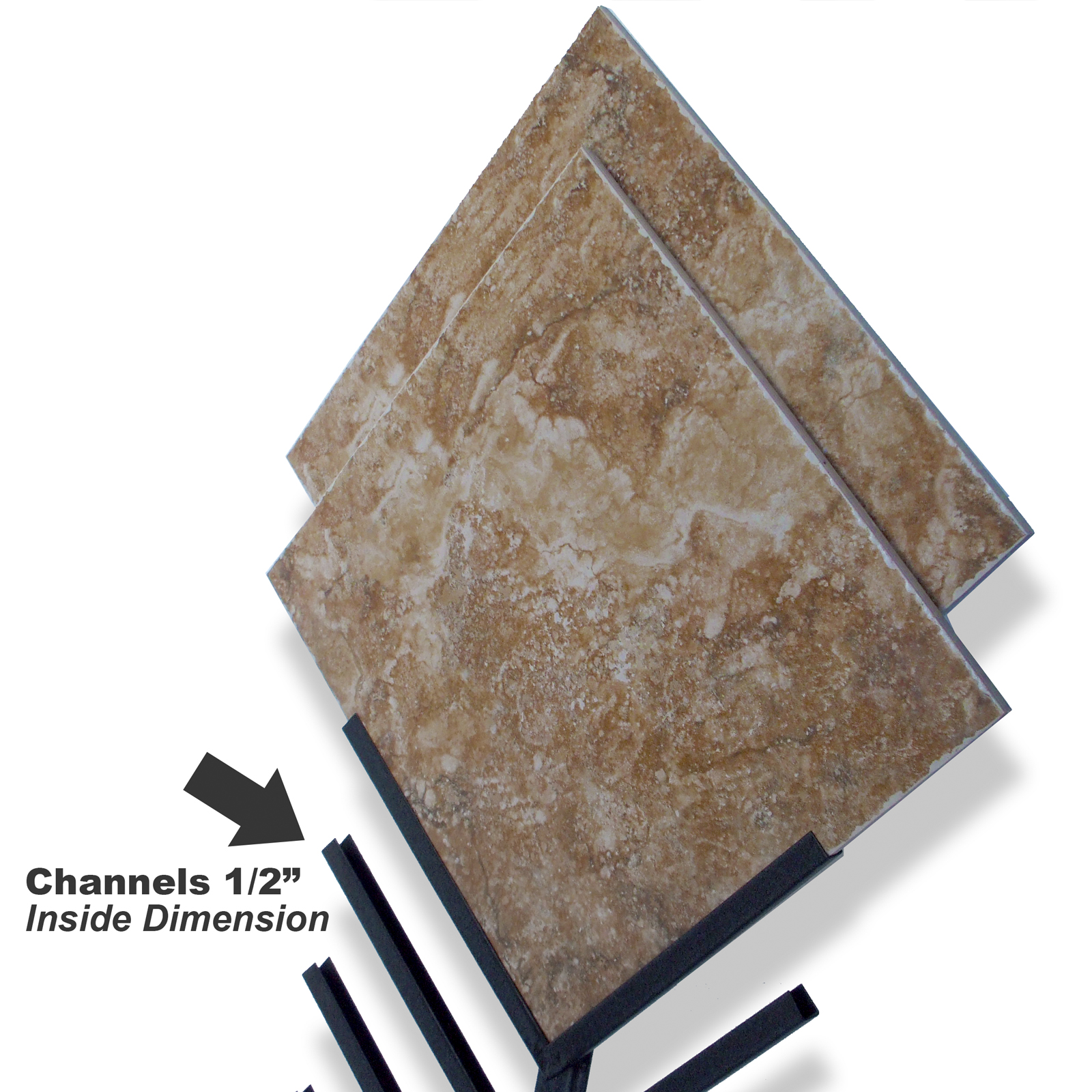 McReady Sample Channel System Displays Diagonal Samples
